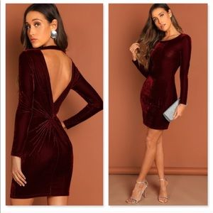 Sassy and soft Velvet Dress 🔥👗